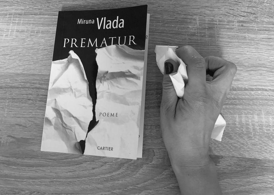 """Ramona Boldizsar, citește-mă!: """"Prematur"""" de Miruna Vlada, un manifest feminist pentru libertatea corpului: """"Uterul nu sunt eu."""""""